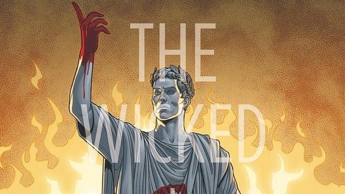 A God's Empire Falls in Kieron Gillen & André Lima Araújo's <i>The Wicked + The Divine: 455 A.D.</i> #1