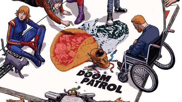 Gerard Way Breaks Down His Favorite Moments from <i>Doom Patrol</i> Vol. 1