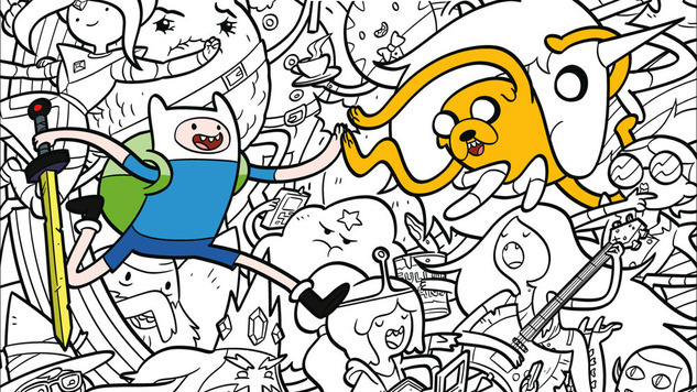 Whoa! Check Out This Mathematical <i>Adventure Time Official Coloring Book</i> Preview