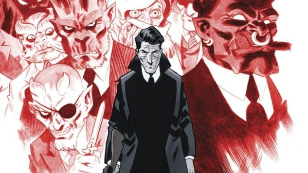 The Underworld is Criminal & Literal in Cullen Bunn & Brian Hurtt's <i>The Damned</i> #1