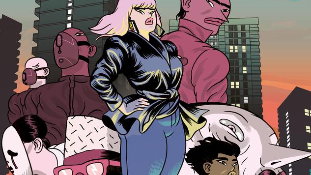 <i>Dalston Monsterzz</i> is a Fleshy Blend of <i>Akira</i>, <i>Attack the Block</i> & Frank Miller