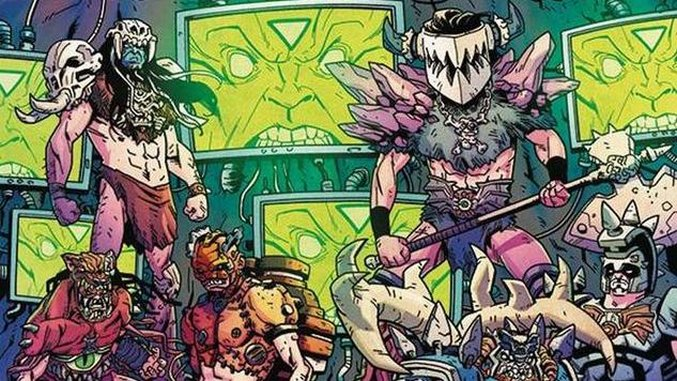 <i>GWAR: Orgasmageddon</i> #1 Lives Up to the Band's Gory, Bonkers Reputation
