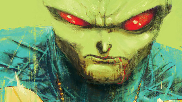 Steve Orlando Aims for <i>the</i> Iconic J&#8217;onn J&#8217;onzz Story in <i>Martian Manhunter</i> #1
