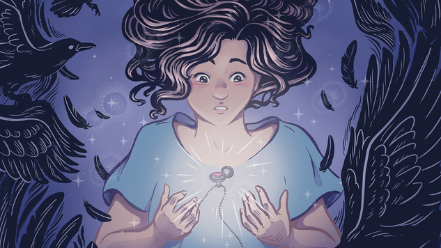 A Young Girl&#8217;s Magical Legacy is Darker Than it Seems in <i>Conspiracy of Ravens</i>