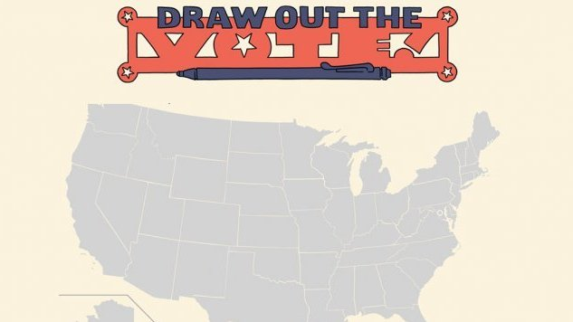 Oni Press Takes On The Midterm Elections With <i>Draw Out the Vote</i> Project