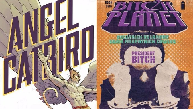 Margaret Atwood & Kelly Sue DeConnick in Glorious Discussion: Sci-Fi, Tattoos,  <i>Angel Catbird</i>, <i>Bitch Planet</i> and So Very Much More