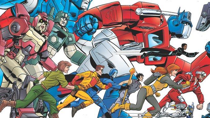 IDW&#8217;s Hasbro Mash-Up <i>Revolution</i> Isn&#8217;t Revolutionary, But It Is a Ton of Fun
