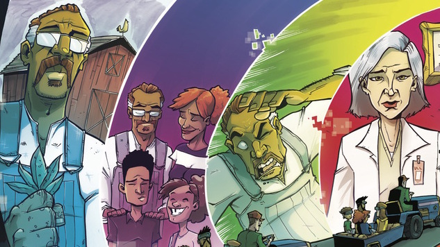 Image Expo Exclusive: <i>Chew</i>'s Rob Guillory Turns a New Leaf in <i>Farmhand</i>