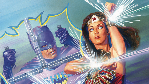 <i>Batman '66 Meets Wonder Woman '77</i> is the Bright, Giddy, Joyous Crossover the World Needs Right Now