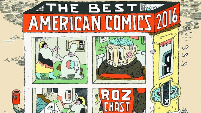 Guest Editor Roz Chast's <i>The Best American Comics 2016</i> Lives Up to its Name