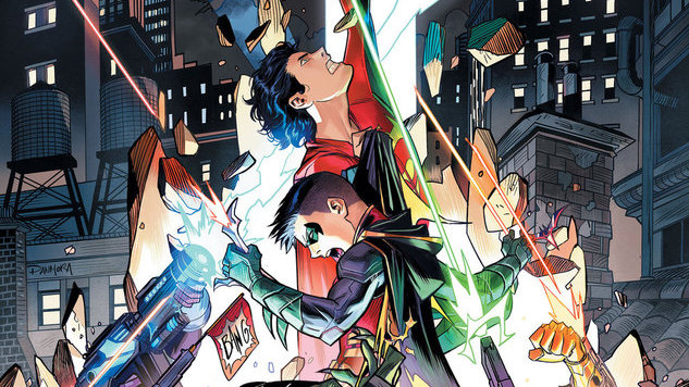 Get the Exclusive Scoop on <i>Adventures of the Super Sons</i> From Writer Peter J. Tomasi