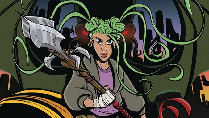 <i>Calla Cthulhu</i>&#8217;s Sarah Dyer & Evan Dorkin Discuss Suburban Horror & Unexpected Career Paths