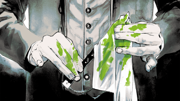 "Dark Horse Exclusive: Rafael Albuquerque, Rafael Scavone & Dave Stewart to Adapt ""A Study in Emerald"" for Neil Gaiman Library"