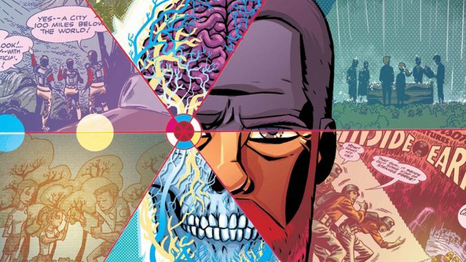 Gerard Way, Jon Rivera, Michael Avon Oeming & Tom Scioli's <i>Cave Carson Has a Cybernetic Eye</i> #1 is a Kirby-Infused Delight