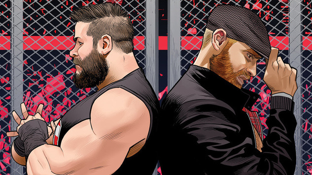 BOOM! Studios&#8217; <i>WWE</i> Comic Gears Up for WrestleMania & the Sami Zayn/Kevin Owens Rivalry