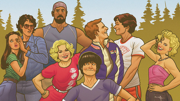 Enroll at Camp Firewood With an Extended Preview of the <i>Wet Hot American Summer</i> Original Graphic Novel