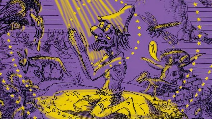 Gary Panter&#8217;s <i>Songy of Paradise</i> Profanes & Pays Tribute to Milton