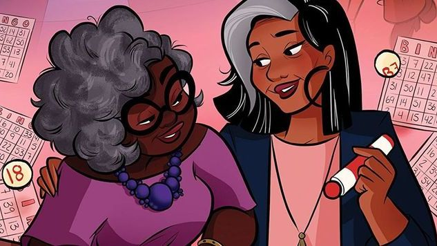 Tee Franklin & Gail Simone Talk <i>Bingo Love</i>, Ignoring the Haters & Paying it Forward