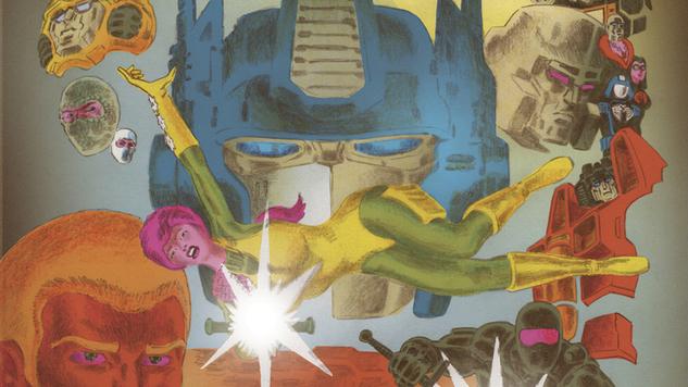 Tom Scioli's <i>Transformers vs. G.I. Joe: The Movie Adaptation</i> is B-A-N-A-N-A-S