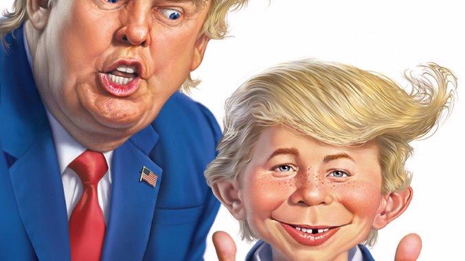 <i>MAD</i> Magazine Makes America Dumb Again with <i>MAD Dumps on Trump</i>