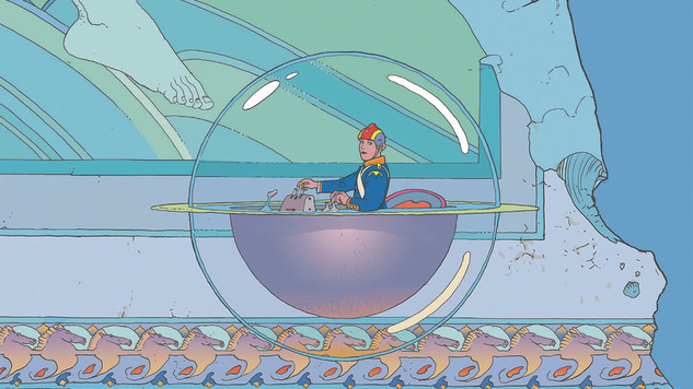 The Moebius Library Expands in this Extended Preview of <i>The Art of Edena</i>