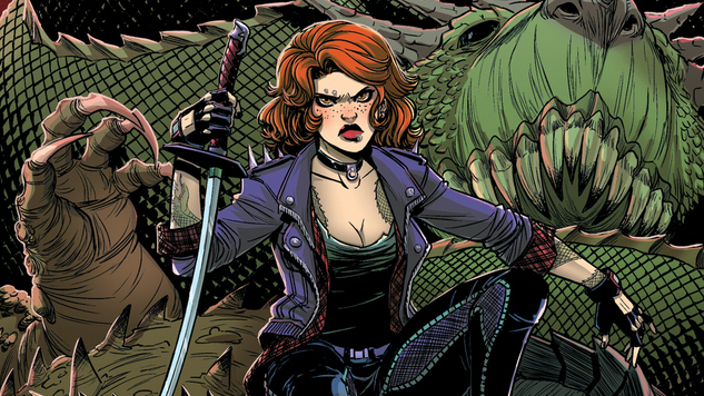 Exclusive: Magdalene Visaggio & Corin Howell Hunt Down Monsters in <i>Calamity Kate</i>