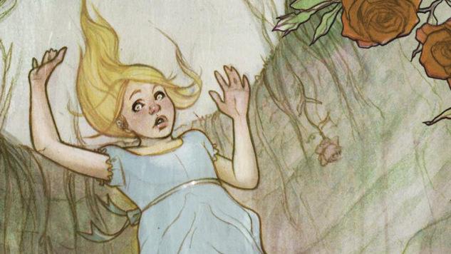 Exclusive: Jenny Frison Illustrates <i>Alice's Adventures in Wonderland</i> for IDW Publishing