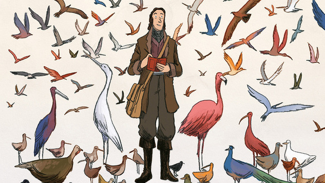 Fabien Grolleau & Jérémie Royer's <i>Audubon, On the Wings of the World</i> Is a Rich, Strange and Unrestricted Devotional to Nature