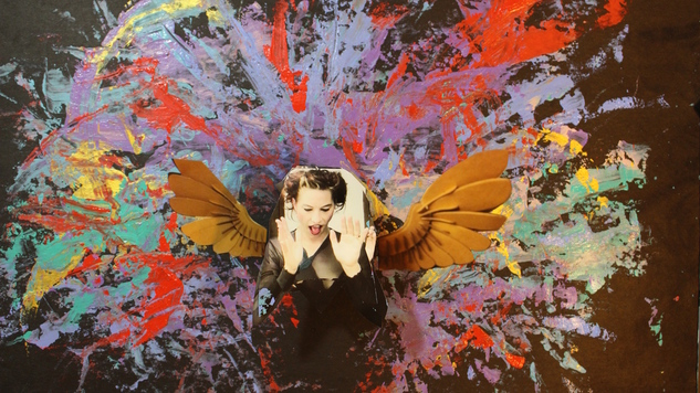 "Amanda Palmer Exclusive ""Pulp Fiction"" Music Video Debut & Interview With Artist David Mack"
