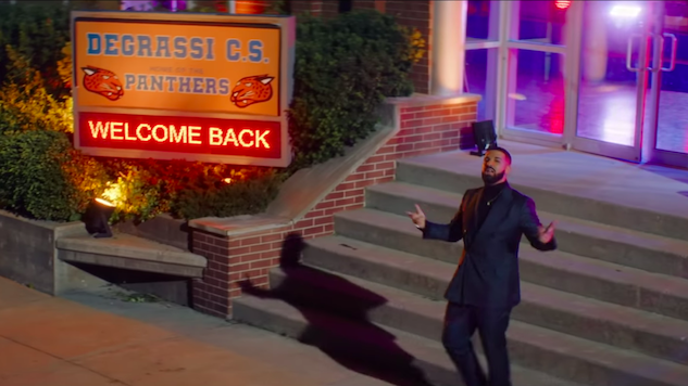 "Drake Reunites the <i>Degrassi</i> Cast for ""I'm Upset"" Video"