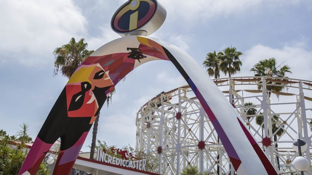 Disneyland's Newest Roller Coaster: Riding the Incredicoaster