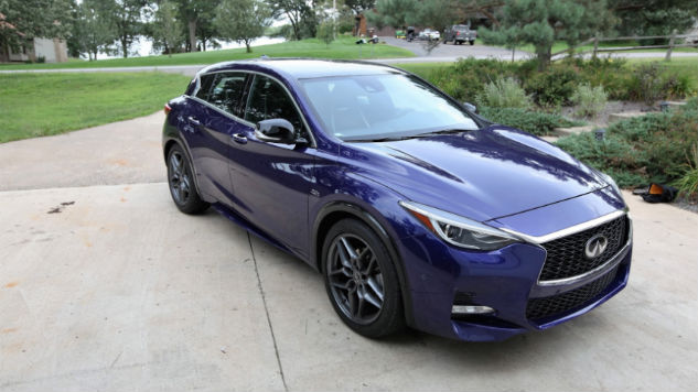 How the 2017 Infiniti QX30 Kept Me in Line (And Saved the Planet)