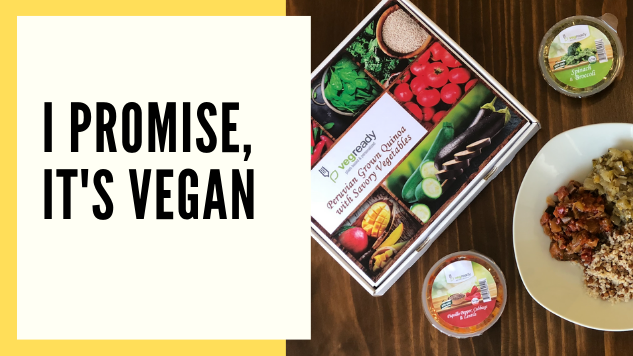 I Promise, It's Vegan: VegReady, a Plant-Based Meal Kit
