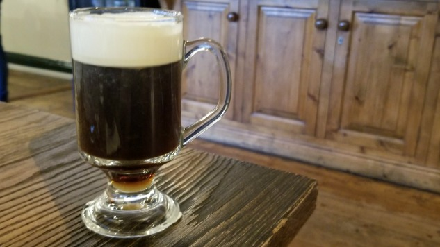 Drink an Irish Coffee this Saint Patrick's Day
