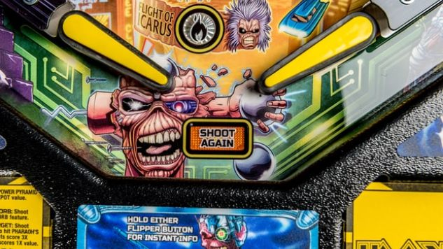 iron maiden gets their own pinball machine from stern games
