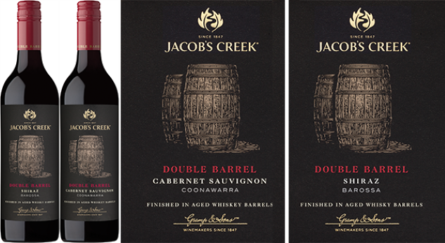 Jacob's Creek Double Barrel Wine Reviews (Cabernet and Shiraz)