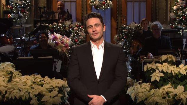 <i>Saturday Night Live</i> Stumbles Along Despite James Franco's Charisma