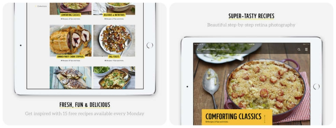 Smartphone sous chef the 10 best cooking apps tech lists jamie olivers recipes free forumfinder Choice Image
