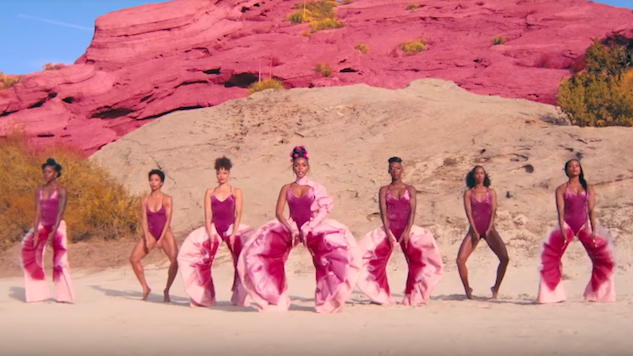 """Watch Janelle Monae's Stunning New Video, """"Pynk,"""" Featuring Grimes and Tessa Thompson"""