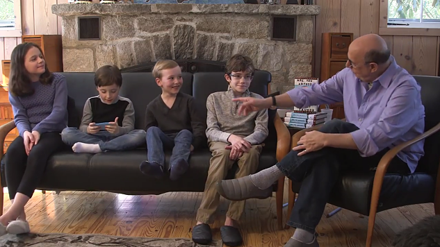 "Jeffrey Tambor is Interviewed by His Children in an Adorable ""Talk Show"" About His Forthcoming Memoir"