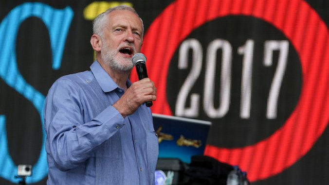 DJ at Glastonbury Remixes Jeremy Corbyn Speech