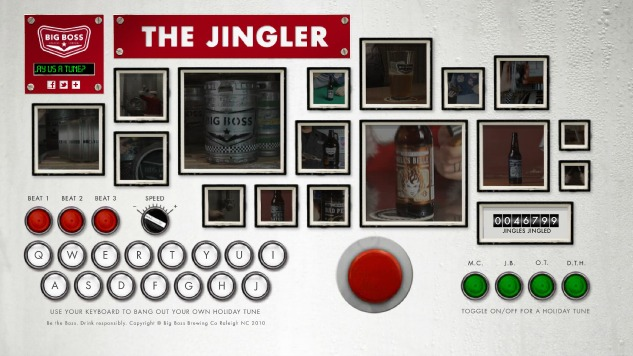 'The Jingler' Lets You Play Holiday Tunes on Brewery Equipment