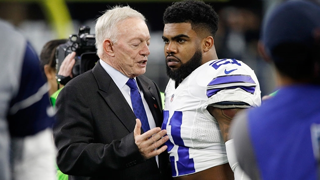 The Dallas Cowboys Are Reportedly Upset with Jerry Jones' Ultimatum That They Will Be Benched If They Kneel