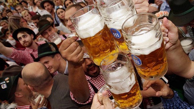 The World's Largest Oktoberfest is Happening Now