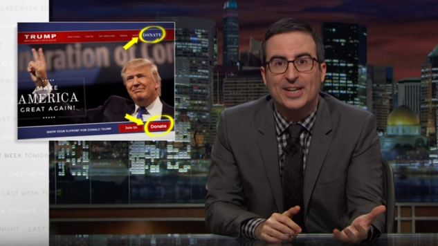 John Oliver's Takedown Was Impressive, But Donald Trump is Beneath Him