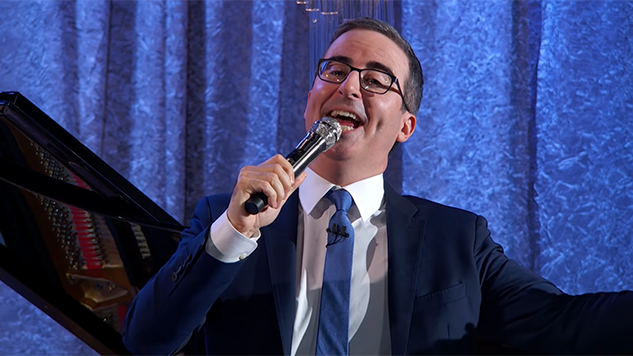 John Oliver Gets Petty and Musical on <i>Last Week Tonight</i>