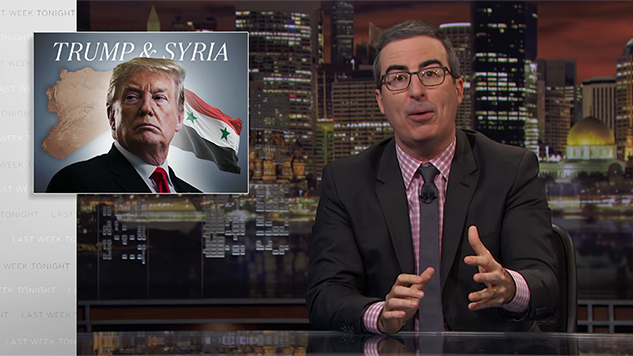 John Oliver Talks Trump's Major Error in Syria on <i>Last Week Tonight</i>