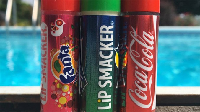Junk Food-Flavored Lip Products