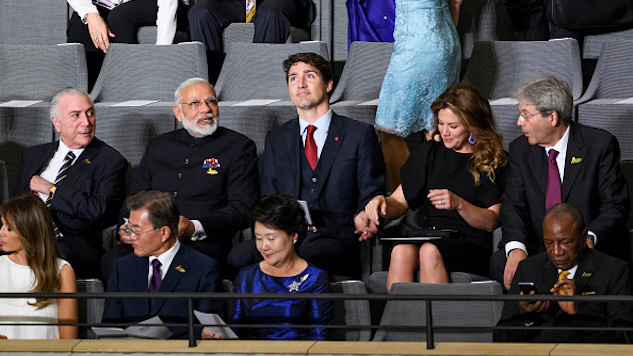 The Best Tweets About Justin Trudeau Trying Way Too Hard in India