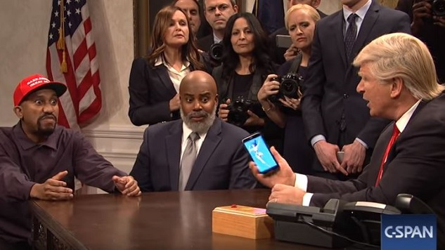 <i>SNL</i> Redoes Kanye's Trip to Trump's White House